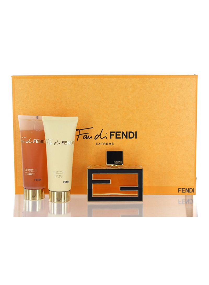 2a98764f567b Shop Fendi, Fan Di Fendi Extreme Gift Set (EDP 50 ml, Body Lotion 74 ...