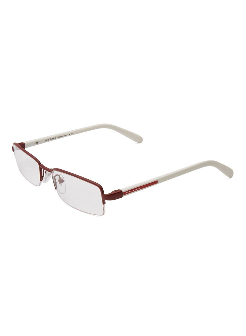 Semi-Rimless Rectangular Eyeglass Frame VPS57B - Shop online on noon ...