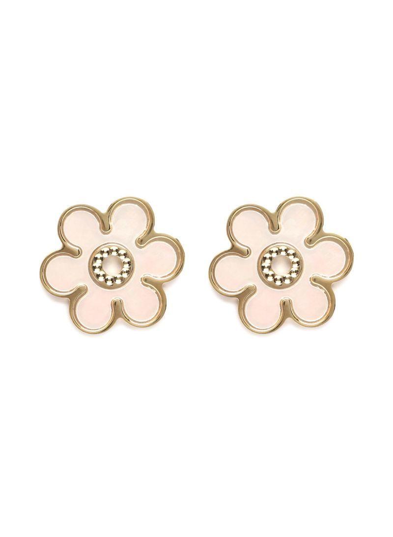 Shop damas 18K Gold Flower Stud Earrings online in Dubai