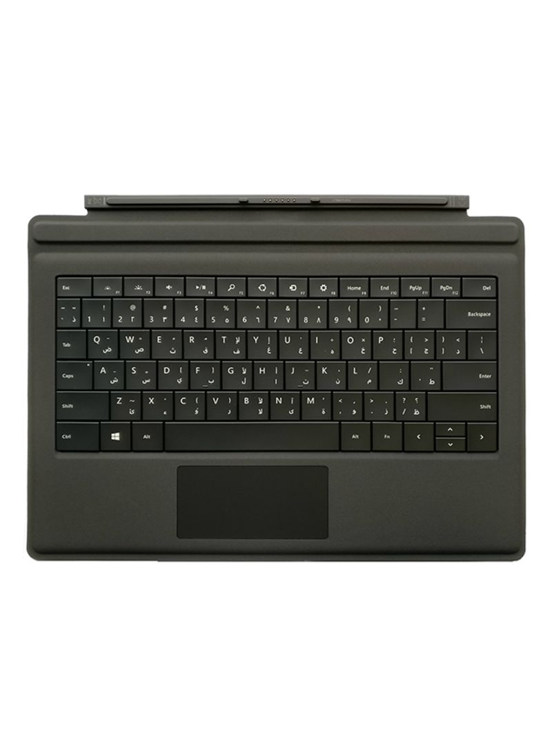 Shop Microsoft Surface Pro Keyboard With English/Arabic Layout Black online  in Dubai, Abu Dhabi and all UAE