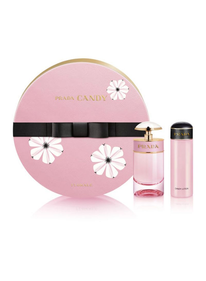 db0738e6 Shop PRADA Candy Florale Gift Set EDT 50ml and Body Gel 75ml online in  Dubai, Abu Dhabi and all UAE