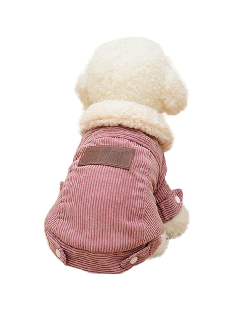 7d4e98ae9e94 Shop OUTAD Berber Fleece Winter Coat Pink White S yard online in ...