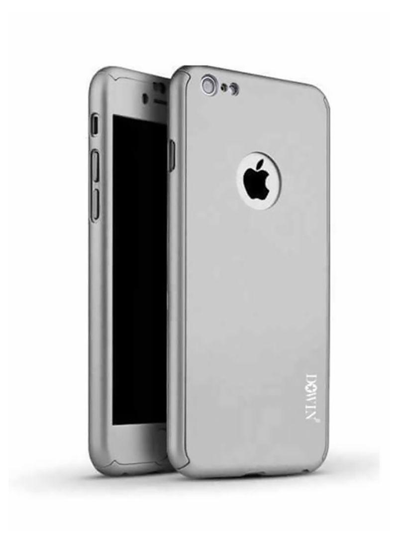 815461bd4d3 otherOffersImg_v1518418794/N12698838A_1. Dowin. 360 Degree All-Round Protective  Case With Tempered Glass For Apple iPhone 6/6S Plus Grey