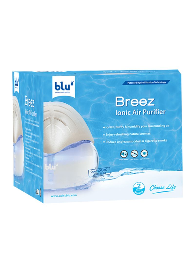 Blu Breez Ionic Air Purifier With Patented Hydro Filtration Hitachi Ep A3000 W Product