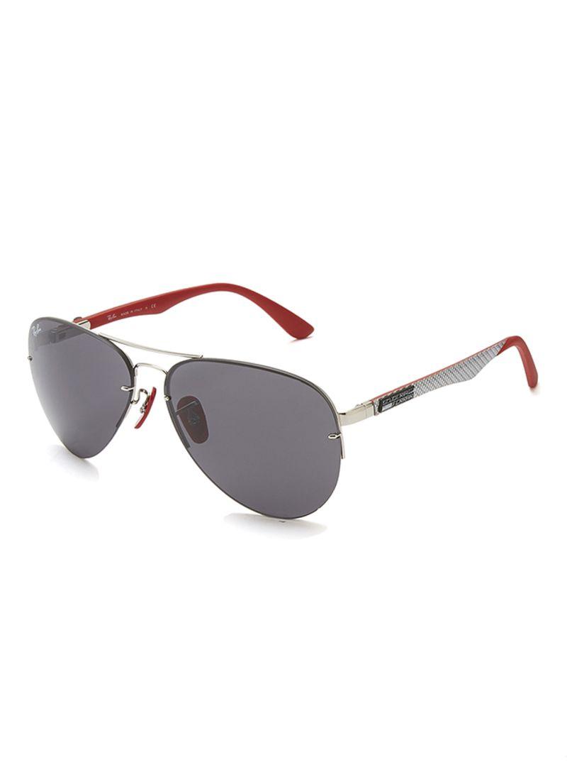 7d4efa74831cc Shop Ray-Ban Full Rim Aviator Sunglasses RB3460M F013 87 online in ...