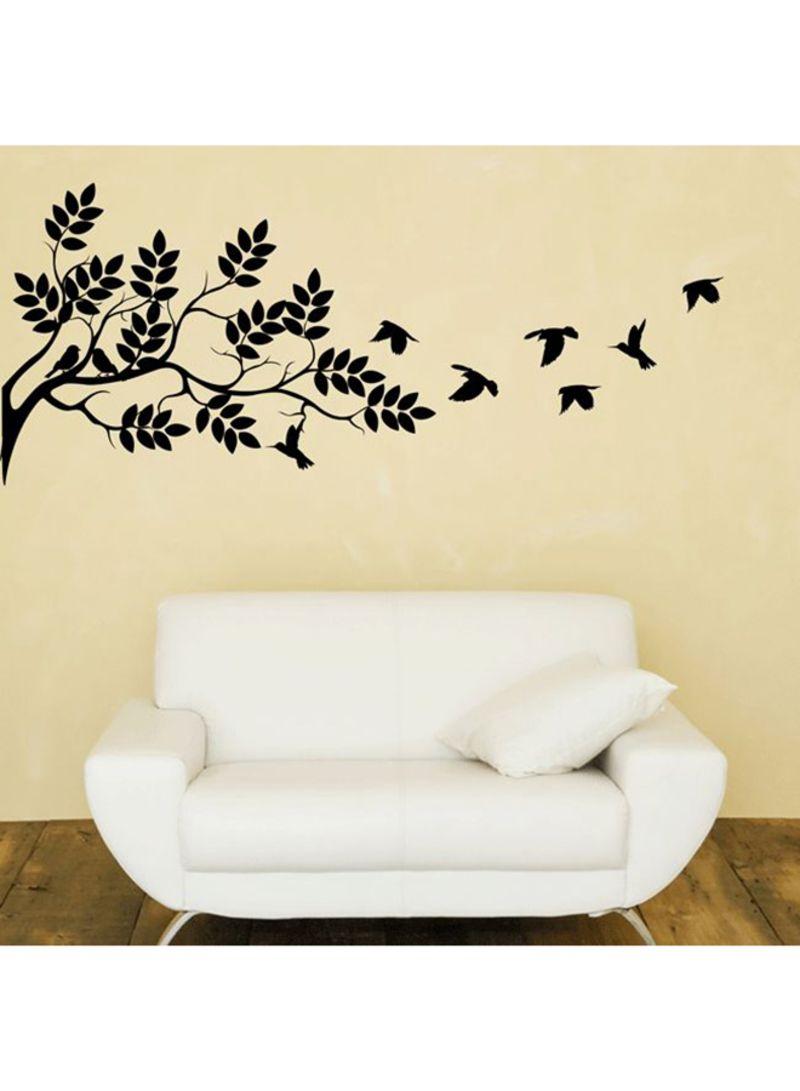 Shop Walliv Birds On Branch Wall Decal Black 95x40 centimeter online in  Dubai, Abu Dhabi and all UAE