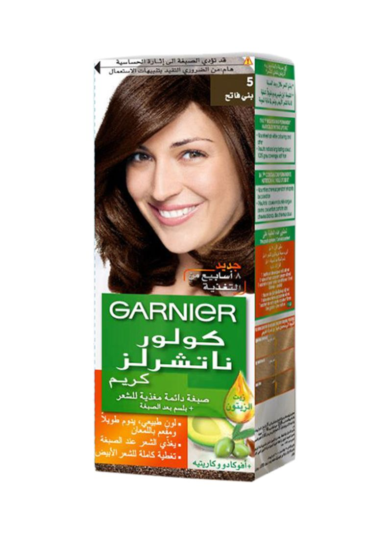 7257382f6a1 otherOffersImg v1518709203 N11266079A 1. GARNIER. Color Naturals Permament Hair  Color Cream 5 Light Brown