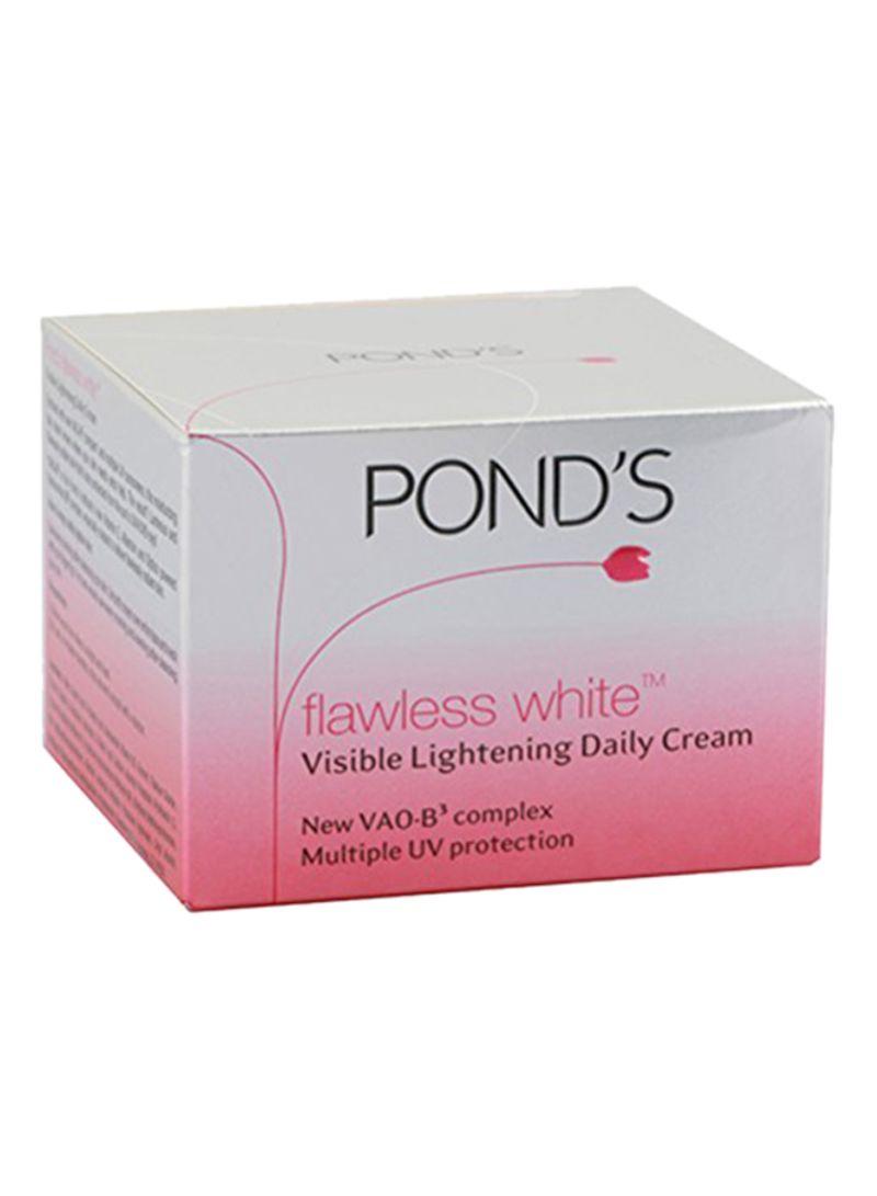 Shop Ponds Flawless White Day Cream 50 G Online In Dubai Abu Dhabi Package