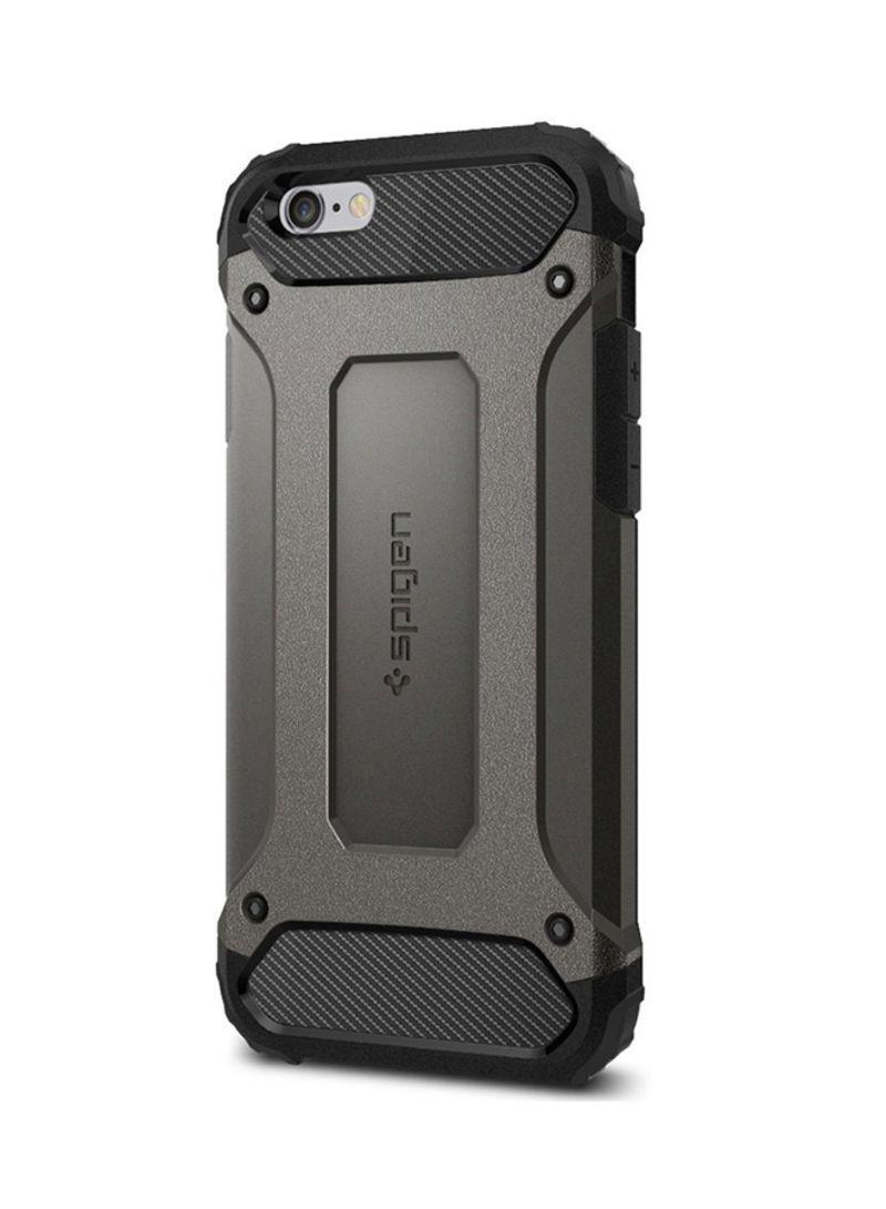 hot sale online 183e2 68596 Shop Spigen Tough Armor Tech Case Cover For Apple iPhone 6s/6 Gun ...