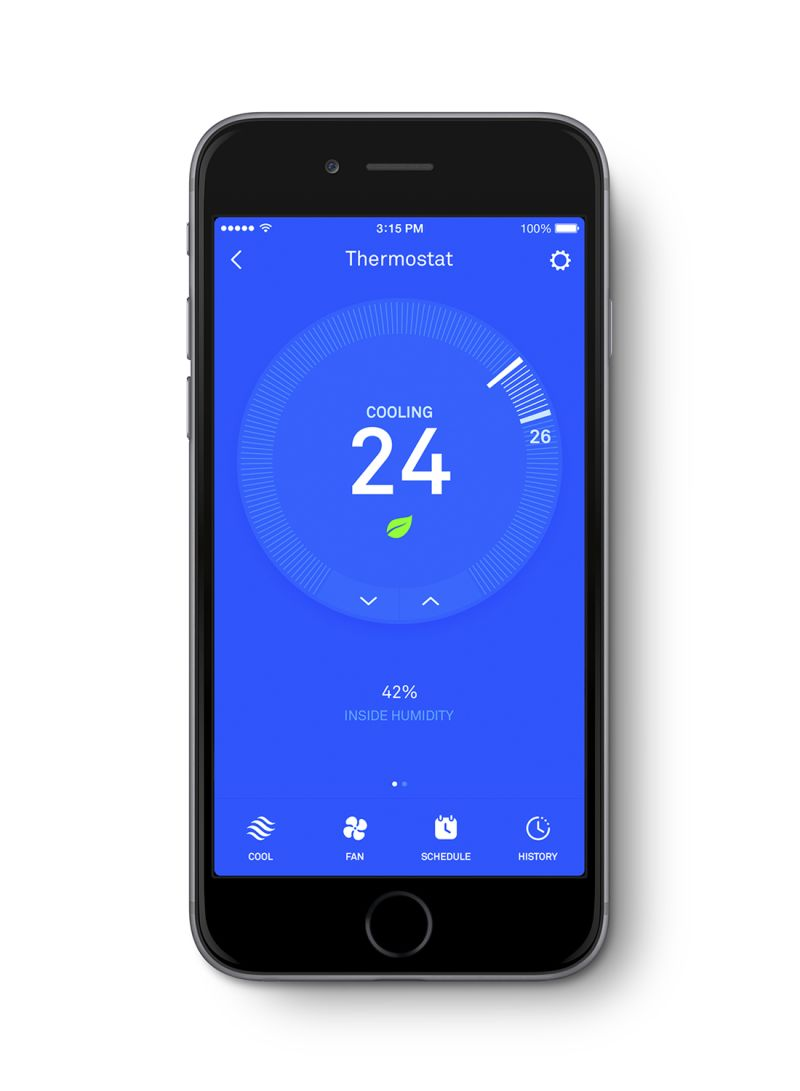 Shop Nest Nest Learning Thermostat (With Installation) online in Dubai, Abu  Dhabi and all UAE