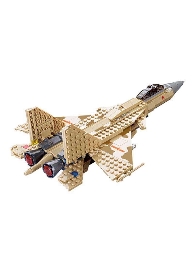 Shop Kazi Fighter Plane Building Blocks Set online in Dubai