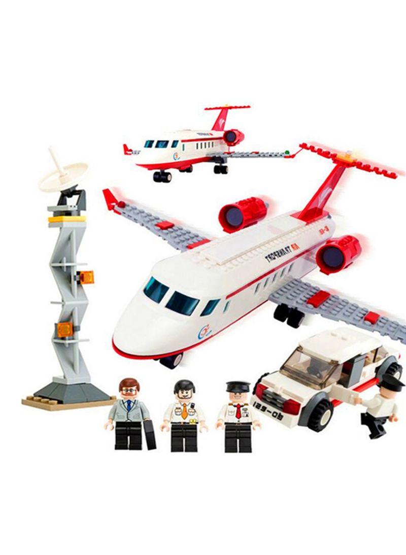 Shop JOY-JOYTOWN Super Aircraft Model Private Plane Building