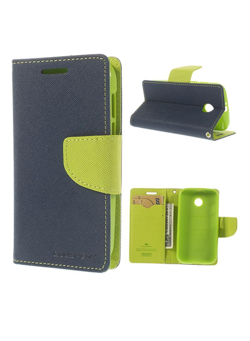 on sale 128a0 7e4bd Shop GOOSPERY Leather Flip Cover For Motorola Moto E XT1021/Dual SIM ...