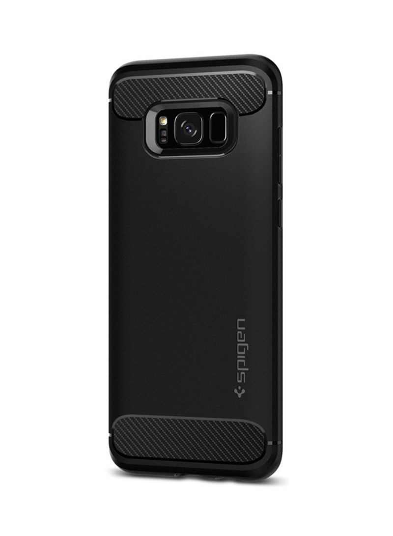 separation shoes 32046 27258 Shop Spigen Rugged Armor Case Cover For Samsung Galaxy S8 Plus Black online  in Riyadh, Jeddah and all KSA