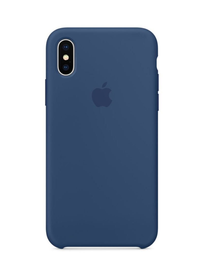 check out dfaa6 bfeab Shop Generic Silicone Case Cover For Apple iPhone X Blue Cobalt online in  Dubai, Abu Dhabi and all UAE