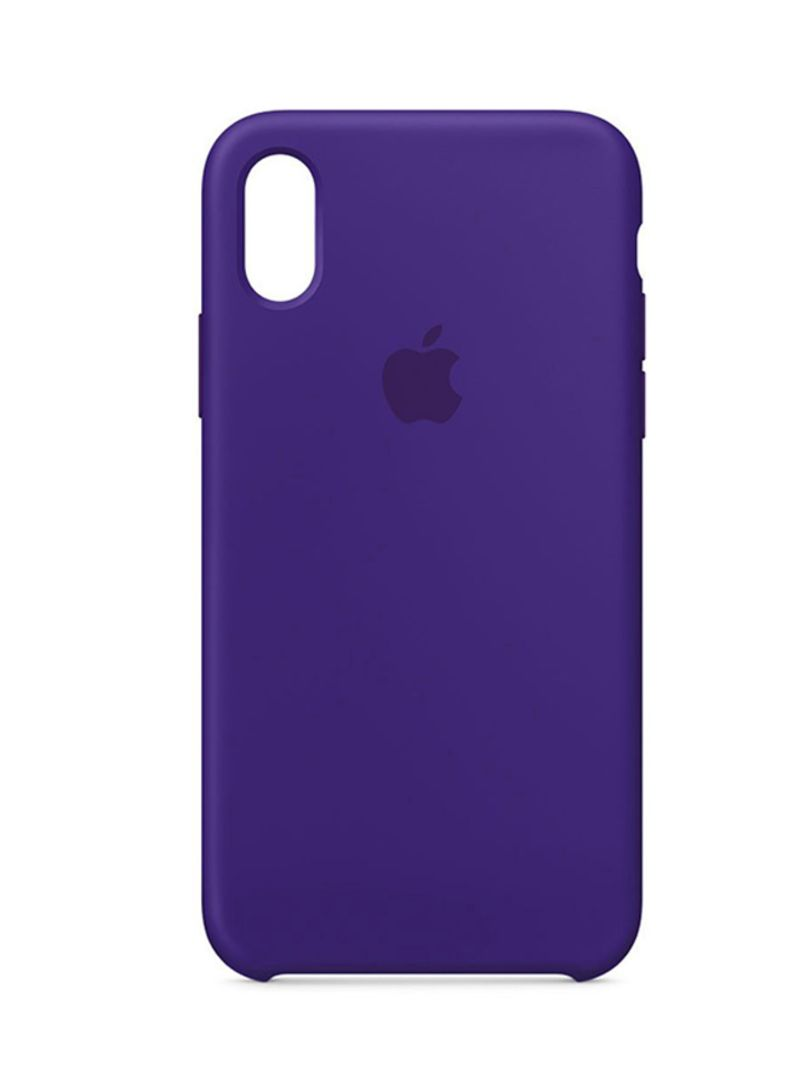 quality design 5eaa5 c5ec3 Shop Generic Soft Silicone Case Cover For Apple iPhone X Ultra Violet  online in Dubai, Abu Dhabi and all UAE