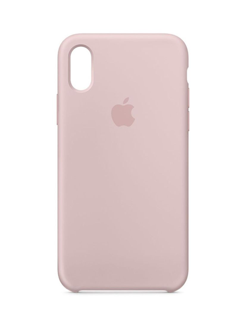 on sale d365a fba24 Shop Generic Silicone Case Cover For Apple iPhone X Pink Sand online in  Dubai, Abu Dhabi and all UAE