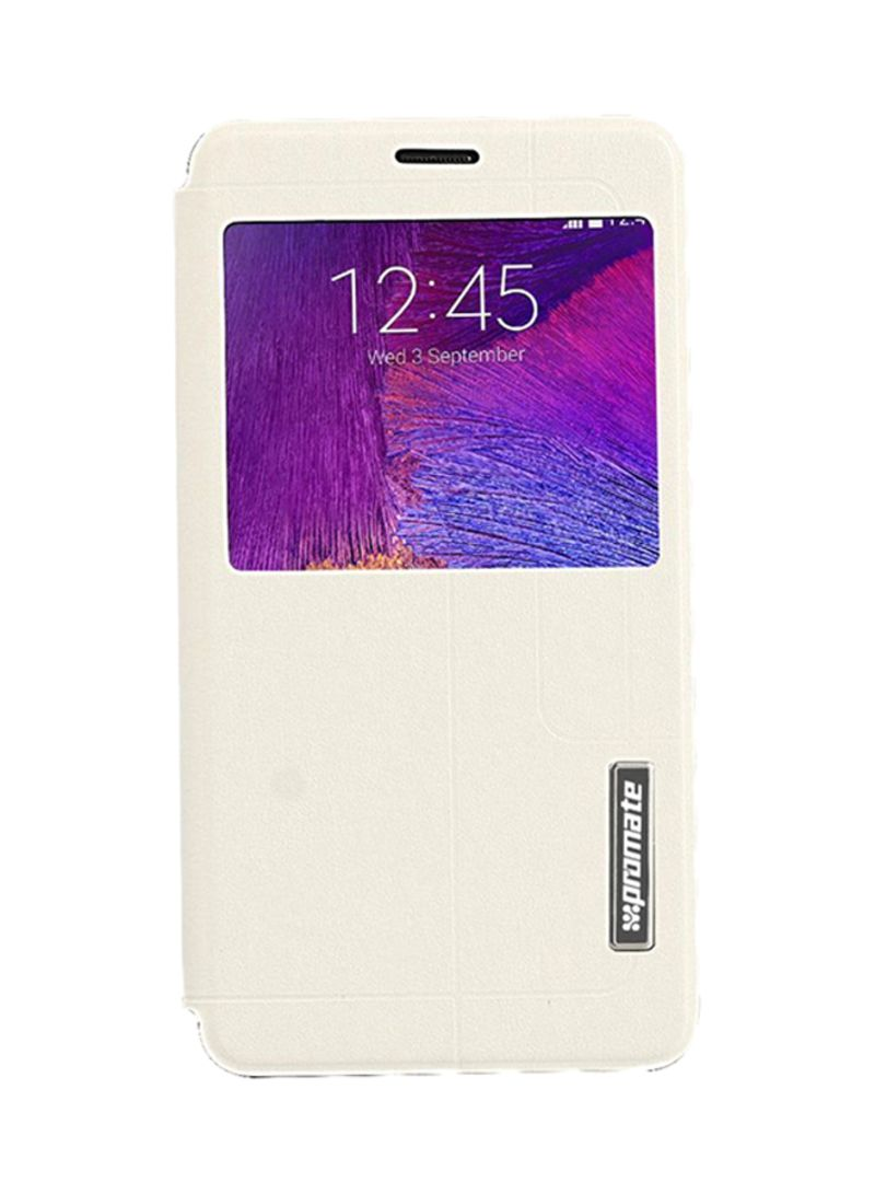 wholesale dealer 25767 cd108 Shop Promate Flip Case Cover For Samsung Galaxy Note 4 Book Style ...