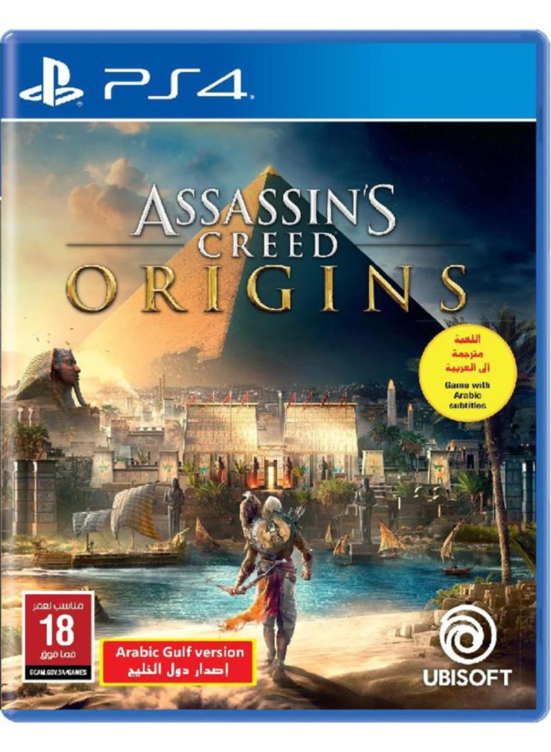 Shop Ubisoft Assassin S Creed Origins Eng Arabic Ksa Version Action Shooter Online In Dubai Abu Dhabi And All Uae