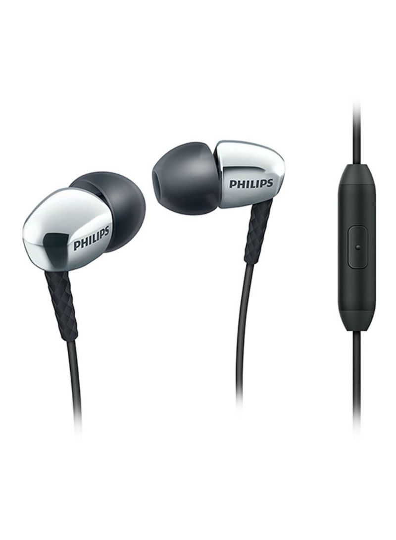 29ce1713199 Shop Philips In-Ear Headphones Silver/Black online in Riyadh, Jeddah ...