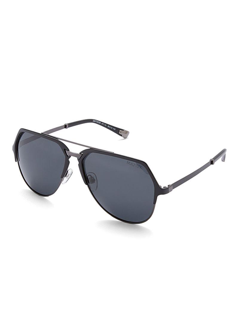 dd8f886b5d Shop TFL Men s Men s Polarized Aviator Black Sunglasses 59-15-143 mm ...