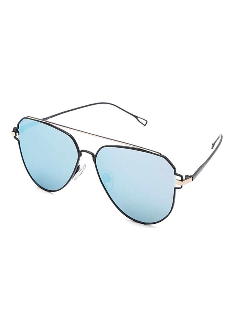 98032ad8a1 Shop TFL Unisex Polarized Aviator Black Sunglasses 59-14-142 mm 8380 ...