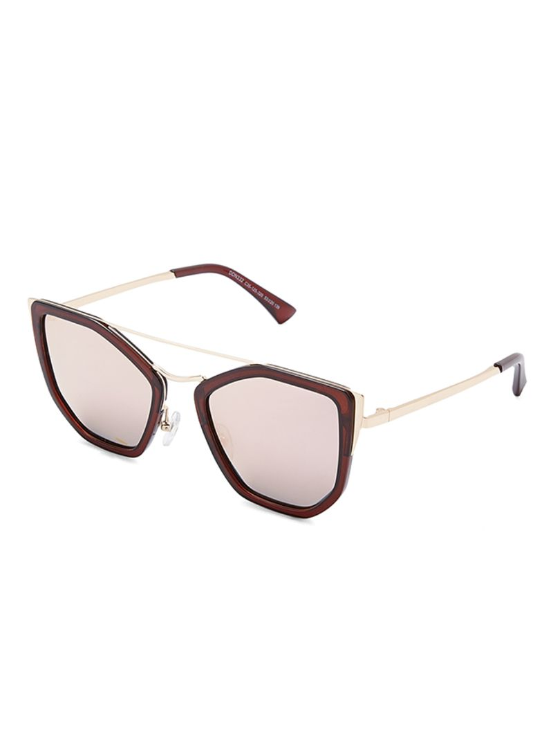 ed88ceae82 Shop TFL Women s Women s Polarized Butterfly Brown   Golden ...