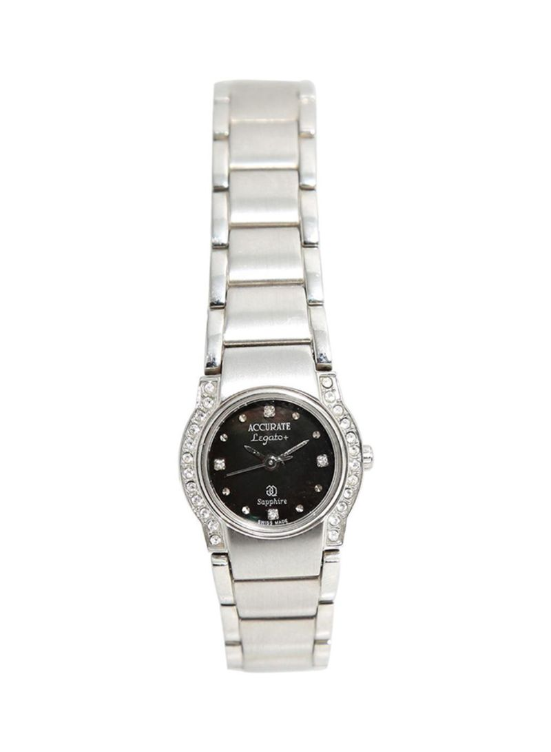 Shop ACCURATE Women's Stainless Steel Analog Watch ALQ148ST online in  Riyadh, Jeddah and all KSA