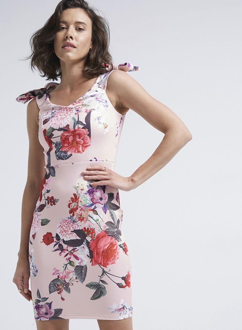 Shop Diva London Corset Style Bodycon Dress Pink online in Riyadh ... 39ffa65d7