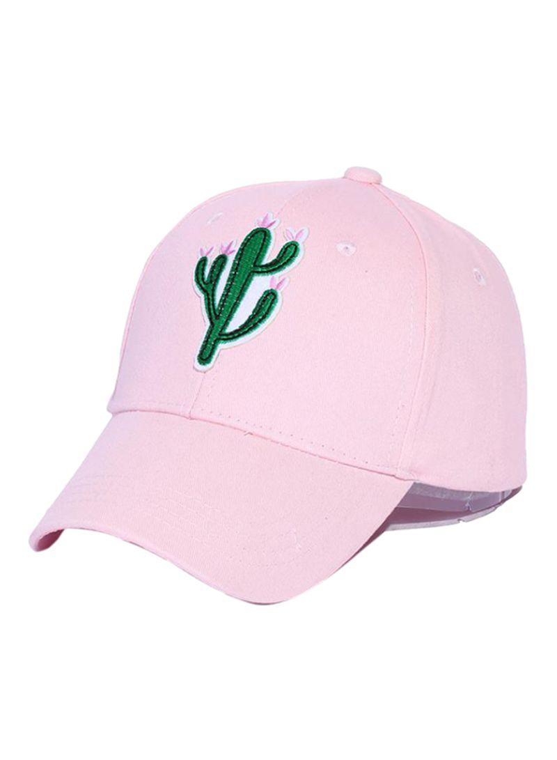 95af7ce6333a8 Shop Bluelans Cactus Pineapple Embroidery Baseball Cap Pink online ...
