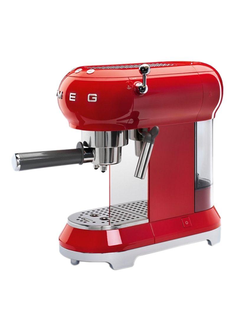 Shop Smeg 50s Retro Style Aesthetic Espresso Coffee Machine 1350w