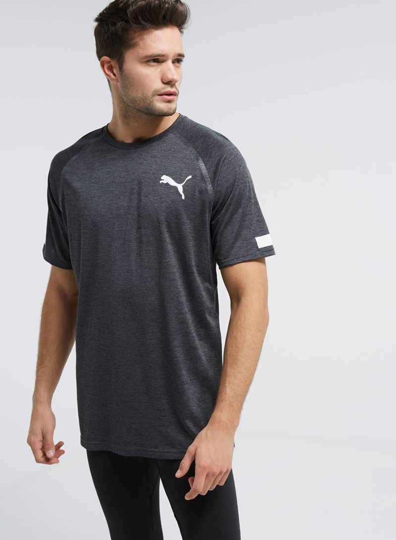 f06470f649822d Shop Puma BND Tech Short Sleeve T-Shirt Grey online in Dubai, Abu ...