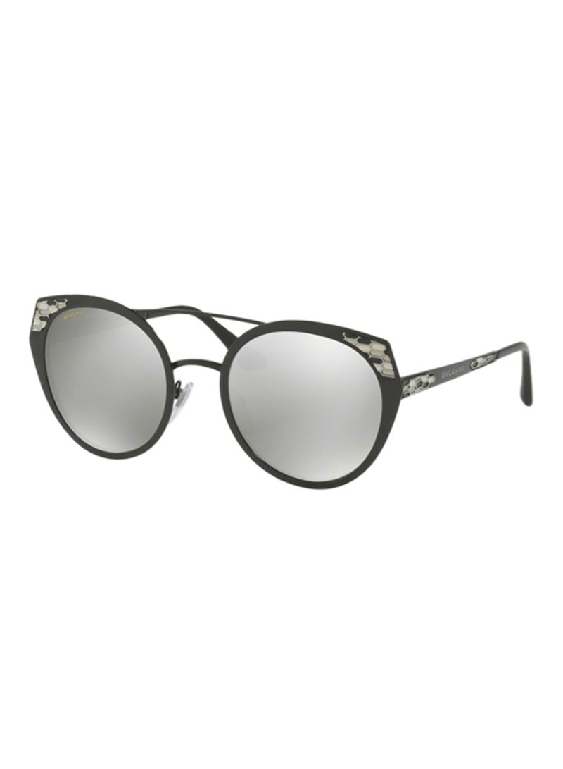 f51e61c07c1ca Shop BVLGARI Women s Cat Eye Frame Sunglasses BV6095-20266G-53 ...
