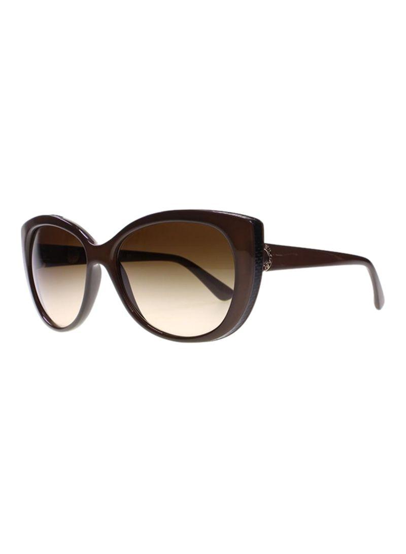 2915ae62fe0c8 Shop BVLGARI Women s Cat Eye Frame Sunglasses BV8169Q-111113-57 ...