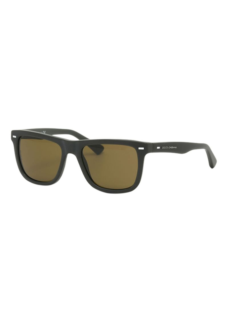 7f7acd4f293 Shop Dolce   Gabbana Square Frame Sunglasses DG4238-290773-47 online ...