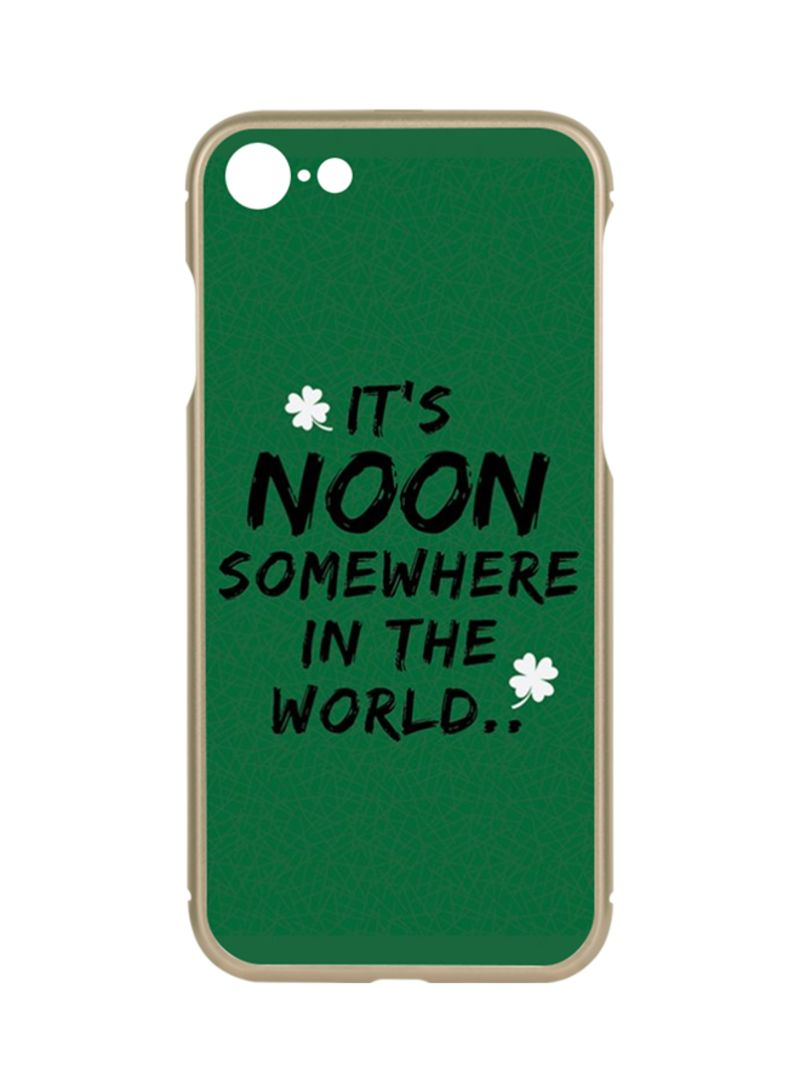 Shop Switch Protective Case Cover For Apple iPhone 7 Gold - Noon Somewhere  03 online in Dubai, Abu Dhabi and all UAE