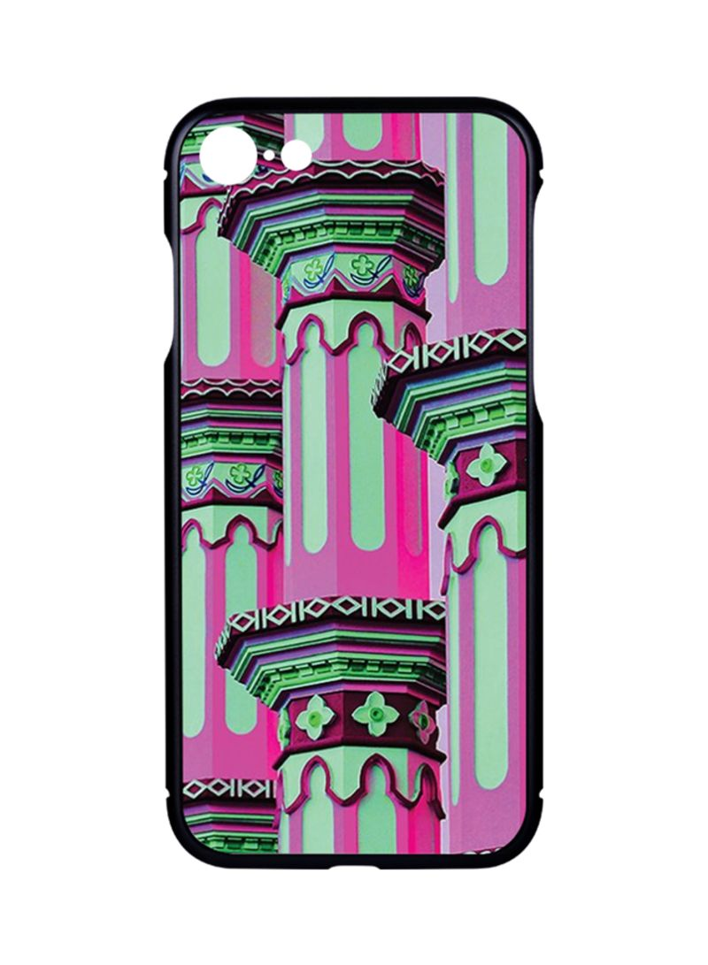buy popular d5559 59935 Shop Switch Protective Case Cover For Apple iPhone 7 Black - Arabic Pattern  002 online in Dubai, Abu Dhabi and all UAE