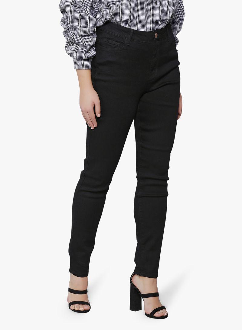 7439c158c تسوق لوست إنك بلس وبنطلون جينز سكيني بخصر مرتفع أسود أونلاين في الإمارات