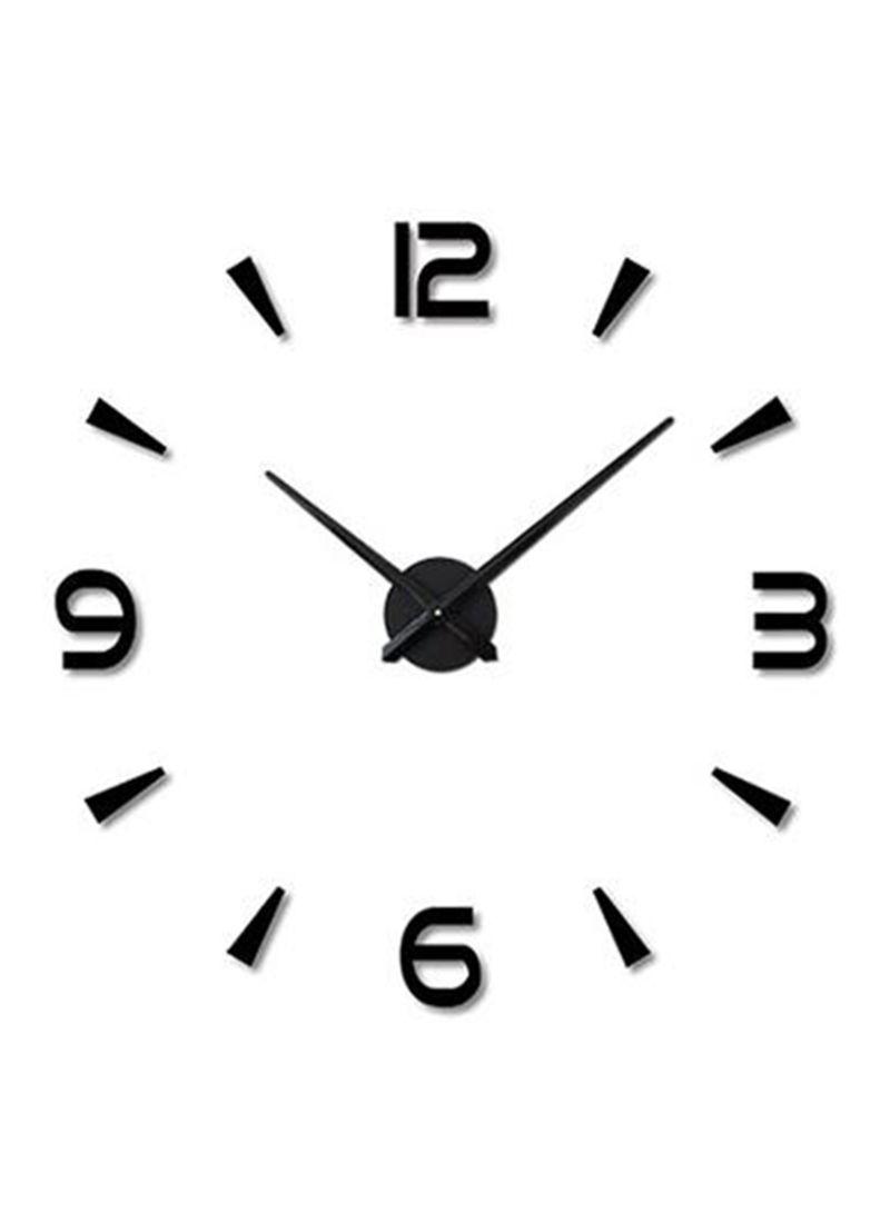 1d09d76fa تسوق ماركة غير محددة وملصق ساعة حائط بسطح عاكس ثلاثي الأبعاد يمكنك ...