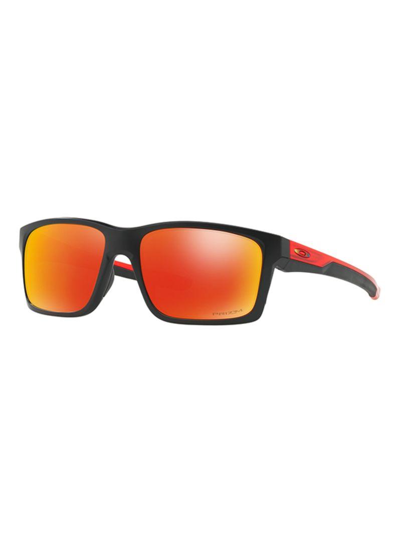 204e9fe94ac94 Shop OAKLEY Men s Mainlink Mirrored Square Frame Sunglasses OO9264 ...