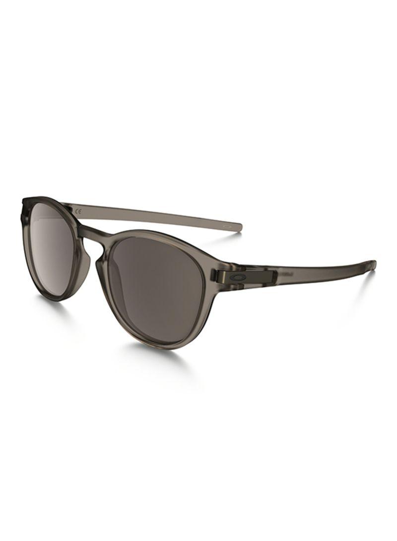 176ce696f1e Shop OAKLEY Men s Latch UV Protected Oval Frame Sunglasses OO9265-03 ...