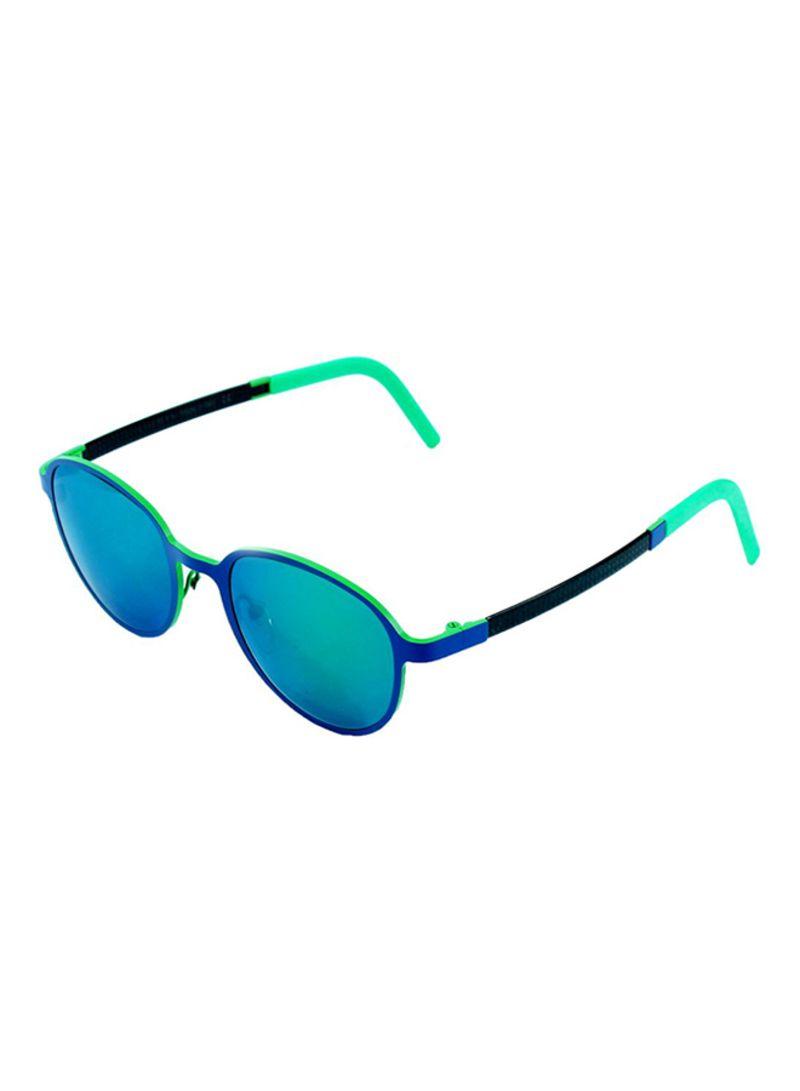 a858f85b65e Shop Locman Girls  Round Women s Sunglasses - Niss04 - 50 21 135 mm ...