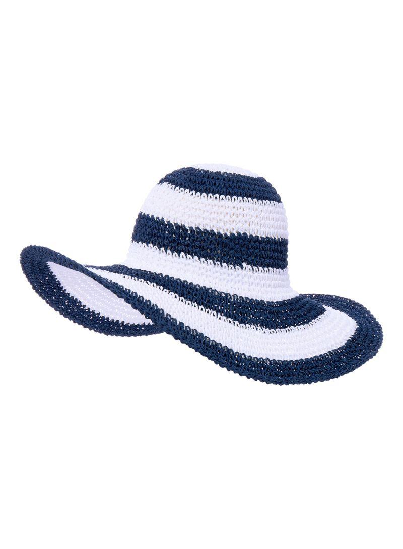 Shop Debenhams Mantaray Stripe Coastal Hat Navy online in Riyadh ... cfb5cc72144f
