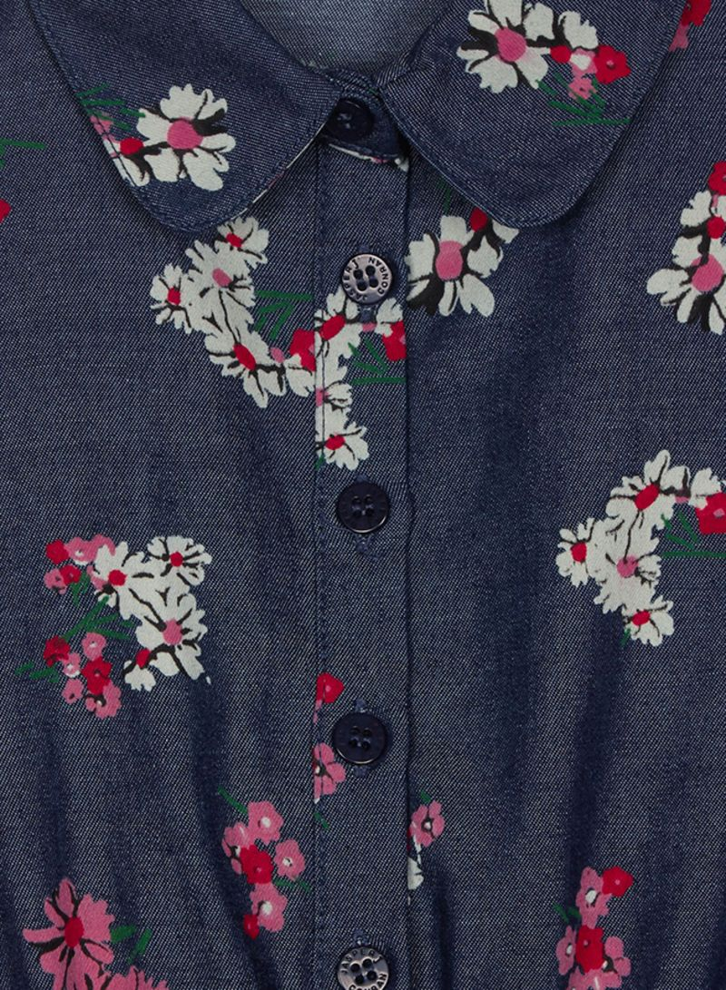 01bdcaa857 Shop Debenhams Kids J By Jasper Conran Floral Print Belted Shirt ...