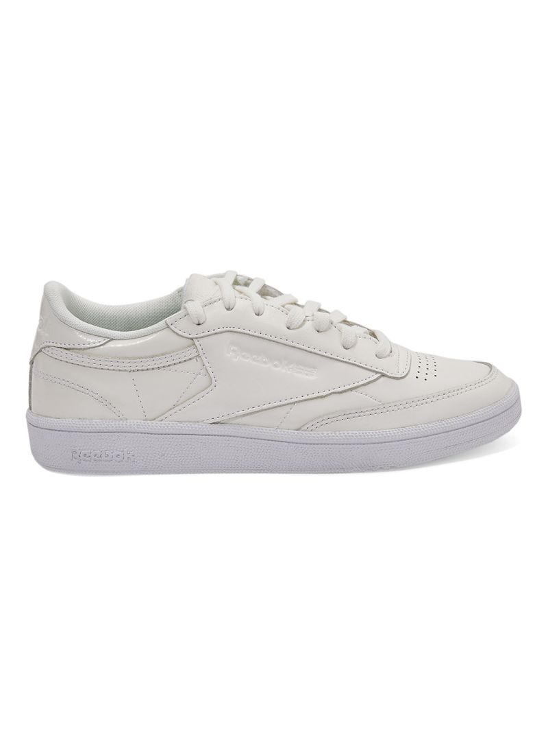 643ce008116 otherOffersImg v1521969263 N13274547A 1. Reebok. CLUB C 85 Patent Lace Up  Trainers