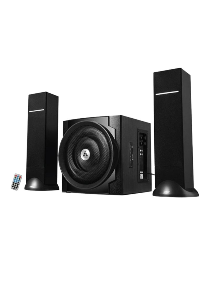 Shop Geepas 2 1 Channel Multimedia Speaker System GMS8545