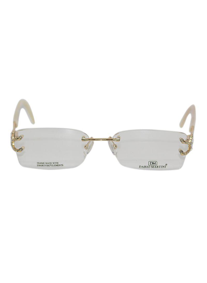9619bfa219 Shop Dario Martini Women s Frameless Eyeglasses FR-162-C1 online in ...