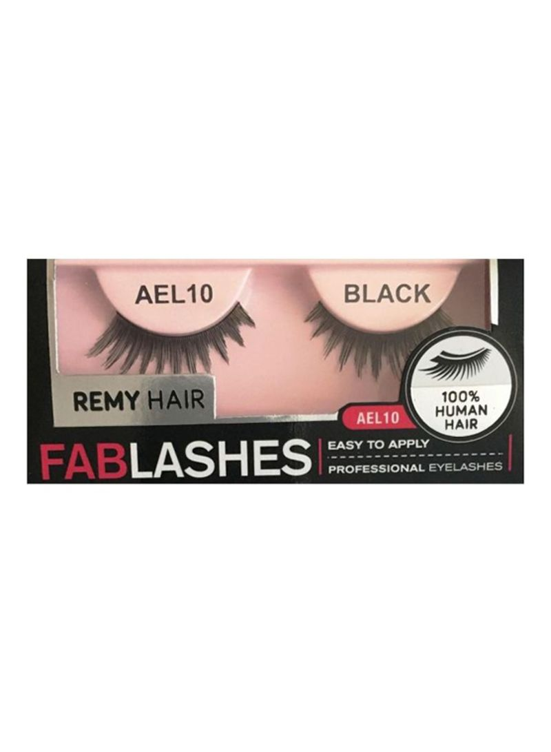 Shop Absolute Human Hair Reusable False Eyelashes Ael10 Online In