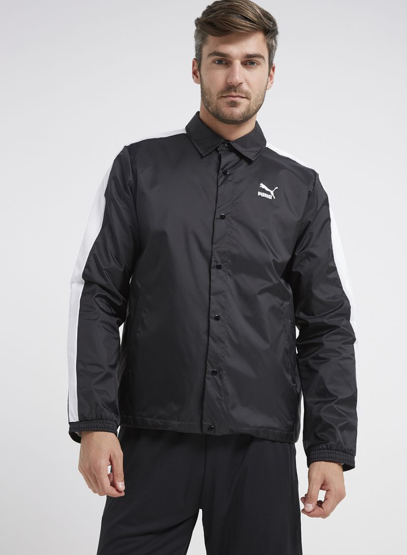 073432ba916a Shop Puma Archive Coach Jacket Black online in Dubai