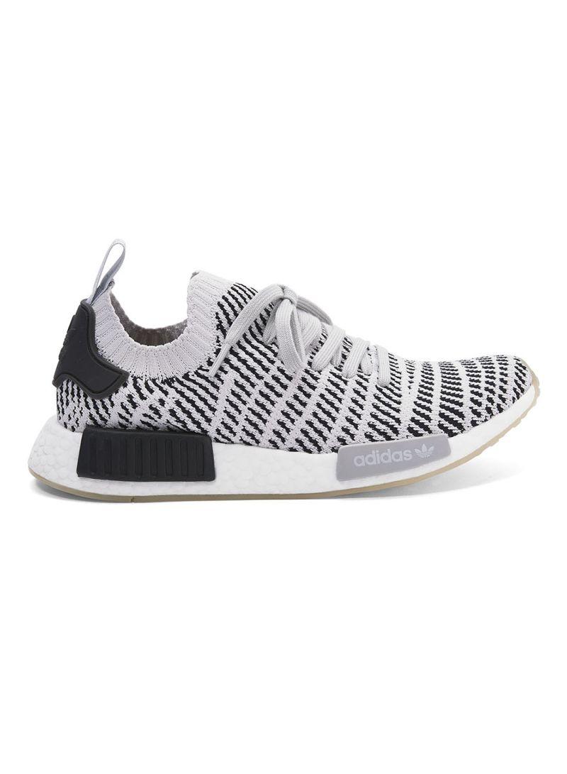 nmd_r1 stlt primeknit shoes black